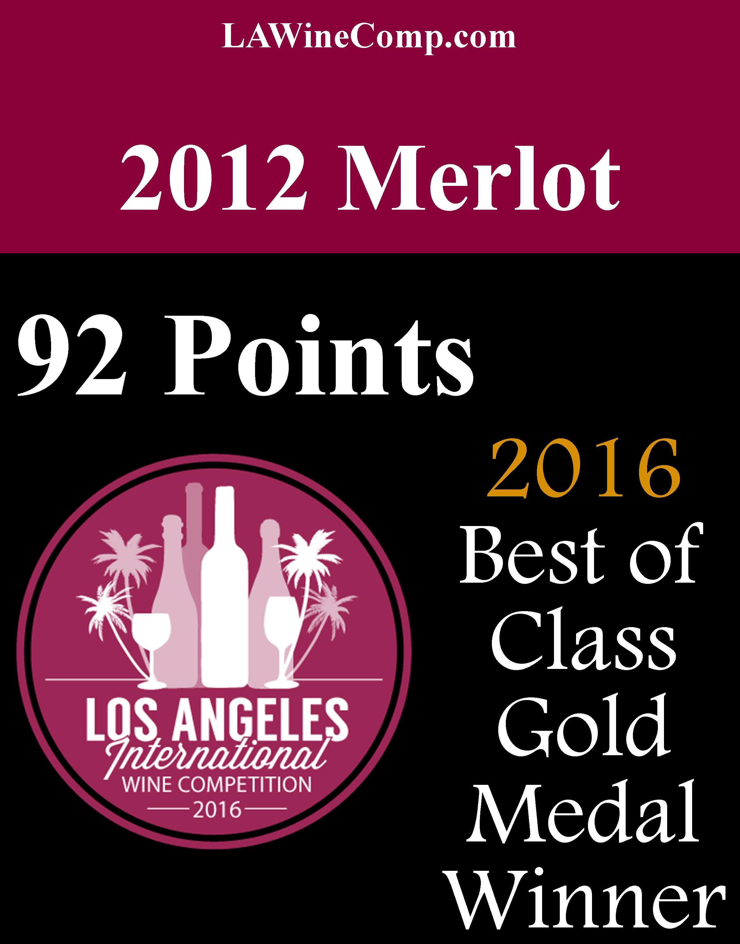 2012 Merlot