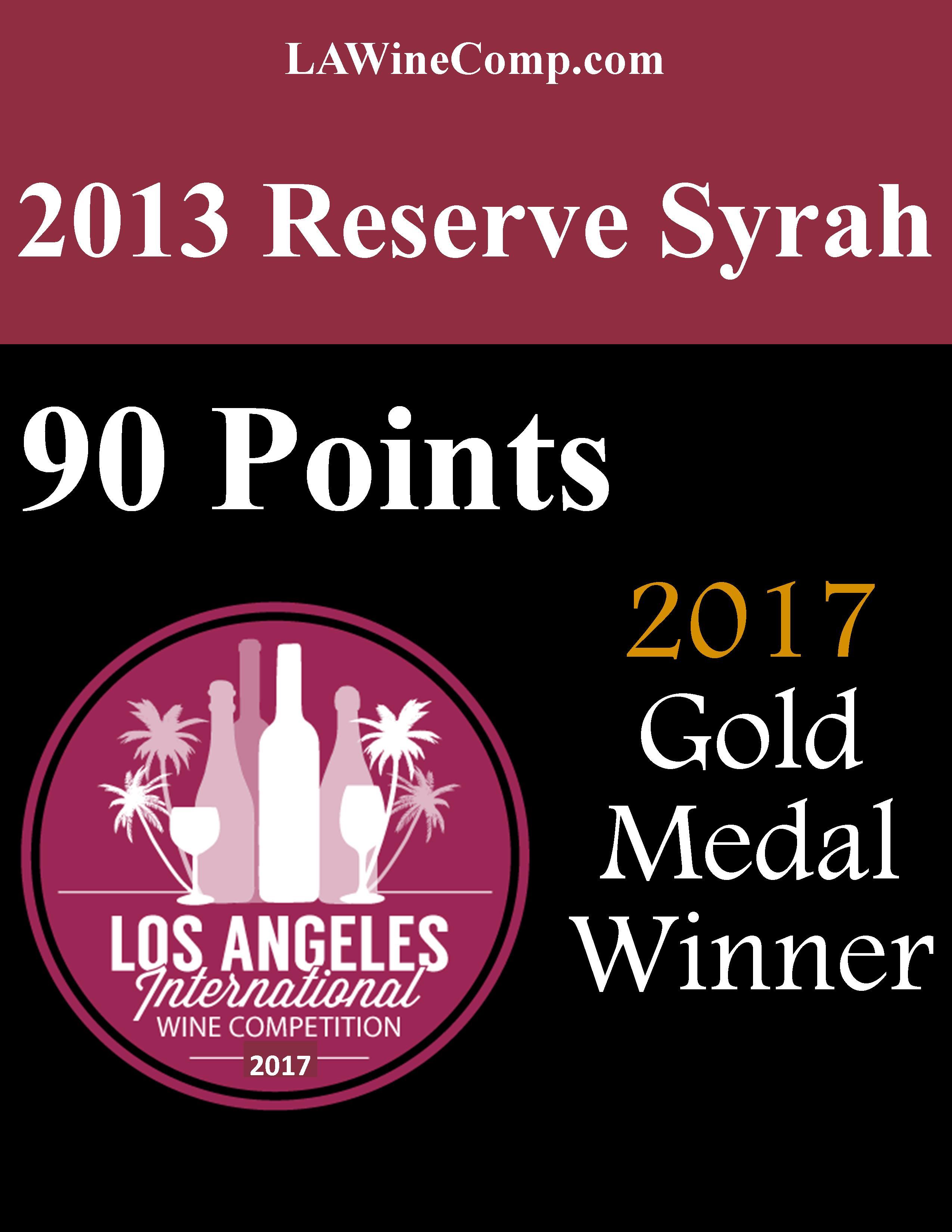 2013 Res Syrah LA