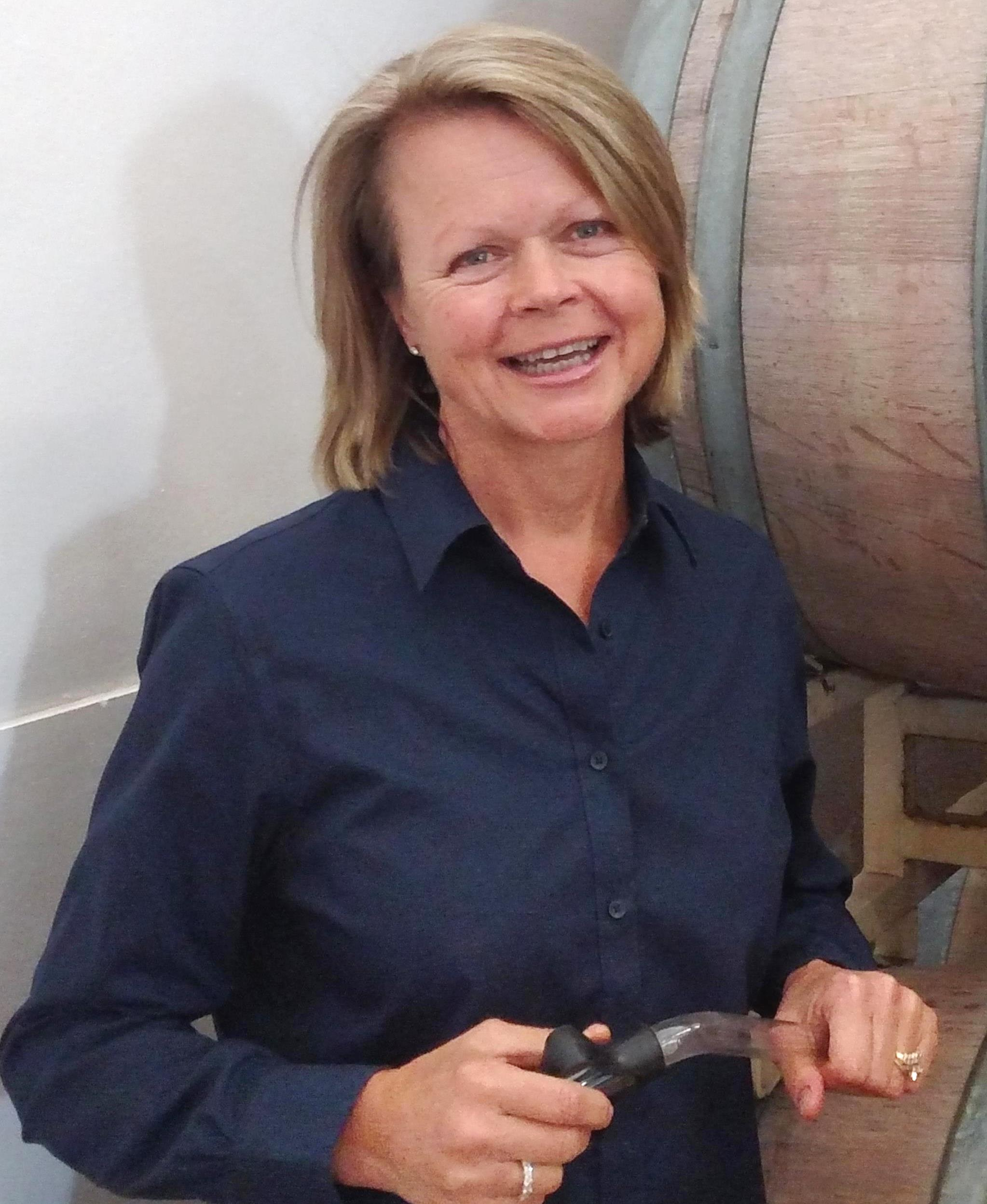 Debbie winemaker